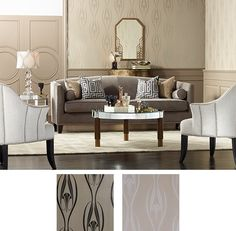 Removable wallpaper is a great option for your home.