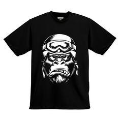 Gorilla T shirt design