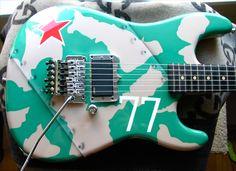 Russian Camo Guitar 2005