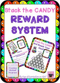 Improve individual, small group and whole class behavior quickly with this reward system. Save your classroom management and get back to teaching!Students earn candy and color in the candy shapes every time they exhibit the target behavior. Student desk-size versions are included in all my REWARD SYSTEM products.
