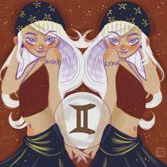 Gemini Twins Horoscope Signs, Zodiac Horoscope, Zodiac Signs, Astrology, Major Arcana Cards, Zodiac Art, Fashion Sketches, Taurus, Jun