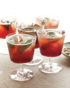 Orange-and-Basil Aperitif Recipe