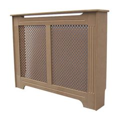 Victorian MDF Radiator Cabinet Unfinished 1020 x 210 x 868mm | Radiator Covers | Screwfix.com