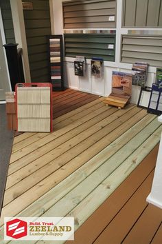 Zeeland Lumber & Supply Showroom: Decking Options