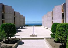Salk Institute for Biological Studies, San Diego, 1967 - Louis I. Kahn