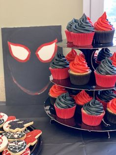 Into the spiderverse Birthday party Prince Birthday Party, My Son Birthday, Bear Birthday, 6th Birthday Parties, Birthday Ideas, Spiderman Invitation, 2nd Birthday Invitations, Avengers Birthday, Miles Morales