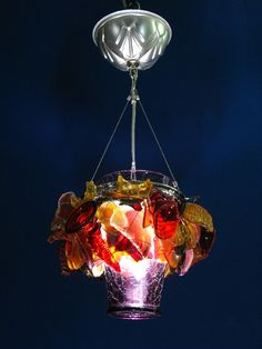 "Check out the deal on ""Fire Storm"" Upcycle Chandelier at Eco First Art"