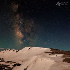 Night Hike To The Stars On Independence Pass by Mike Berenson - Colorado Captures on Nocturne, Summit Lake, Shot In The Dark, Light Pollution, Colorado Hiking, Rare Pictures, Rocky Mountain National Park, Night Photography, Summer Travel