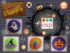 """Cupcakes Día de Muertos-Halloween """"El Rincón del Cup"""""""