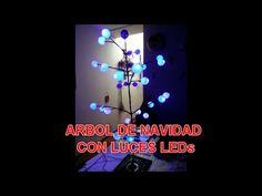 Construcción de Árbol de Navidad con Luces LEDs - Diseño Análisis Fundam...