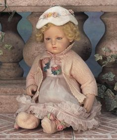 Playing Make-Believe: 81 Very Rare Italian Cloth Character Baby by Lenci