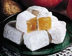 Northwest Apple and Apricot Candy - Aplets and Cotlets Turkish Delight Gelatin Candy Recipe