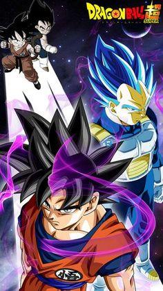 Credit to the artist: Goku UI by jaredsongohan.deviantart.com Vegeta Ultra Blue by: nekoar.deviantart.com Kid Goku by sbddbz.deviantart.com Kid Vegeta by xantrogamerx.deviantart...