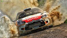 Citroen DS3 WRC rendered in KeyShot by Boyd MeeJi.