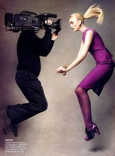 Patrick Demarchelier / The September Issue / 2009 / Documentary / Vogue / Anna Wintour / 2007 Fall issue Foto Fashion, Vogue Fashion, Fashion Shoot, Editorial Fashion, Fashion Art, Vogue Editorial, Magazine Editorial, Mens Fashion, Fashion Editor