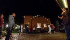 """""""Букет невесты"""" Стекинговая панорама. Серия из 20 кадров. Ночная скоростная съёмка ИСО 20000."""