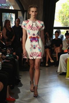 #fashionweekdreamery - do you love this spring Michael Lo Sordo dress? Do u want to see it in-store?