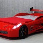 Erkek Çocuk odaları için arabalı yatak dizaynı