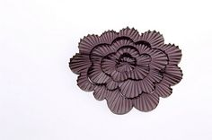 kath inglis cut flower brooch