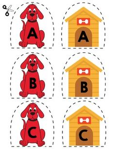 Teach basic literacy skills by having kids match uppercase letters with this simple game.