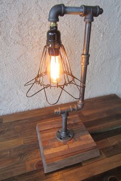 Edison Trouble Light Desk Lamp BULB INCLUDED by UnionFurnishings