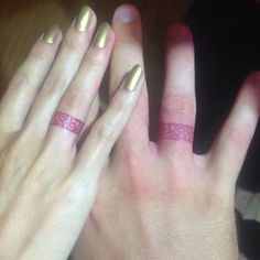 50 Lovely Wedding Ring Tattoos