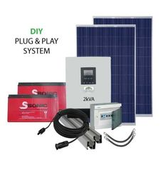 2kVA 24V DIY PV Power Pack My Building, Plugs, Packing, Diy, Products, Bag Packaging, Corks, Bricolage, Do It Yourself