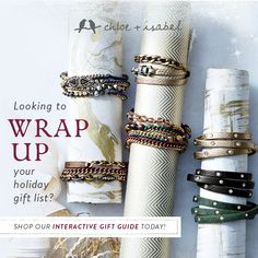 Wrap up your holiday shopping, shop my boutique! Our wrap bracelets are fabulous and all under $50! www.candibykristin.com