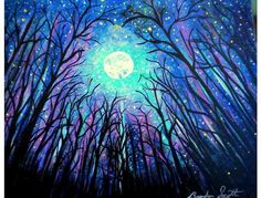 'Energy' by Artist Brandon Scott:  9x12' Canvas!