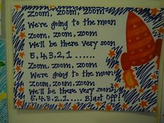 Great idea for circle time and new song.