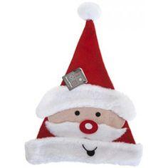 Nissehue med Julemandsansigt - Single