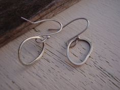 ARTisan Made  Beach Rocks Earrings  PMC  by ARTandElements on Etsy, $36.00