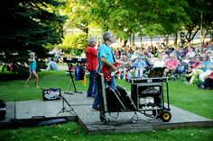 Make your way to Sault Ste. Marie every Wednesday for Music in the Park! This weekly event features a new act every Wednesday. Bring a blanket, a chair, or your dancing shoes!