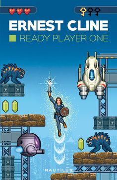 Dig on the cover of the Romanian edition of Ready Player One: https://nemira.ro/ready-player-one