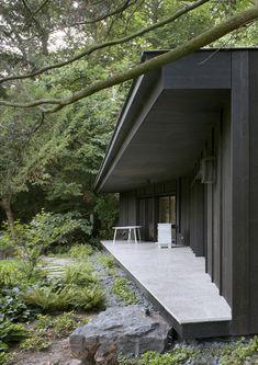 a m garden pavilion renaix vers.a m garden pavilion renaix Amazing Architecture, Landscape Architecture, Interior Architecture, Garden Pavilion, Garden Design, House Design, Forest House, Exterior Design, Villa