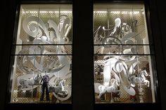 Vitrines Louis Vuitton - Paris, avril 2012