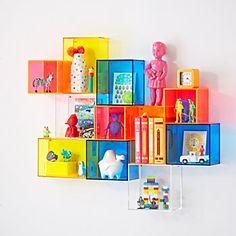 Square Away Acrylic Cube Shelf