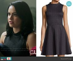 Veronica Lodge Fashion on Riverdale Veronica Lodge Fashion, Veronica Lodge Outfits, Riverdale Veronica, Red And Black Outfits, Camilla Mendes, Riverdale Fashion, Different Dresses, Fashion Tv, Character Outfits