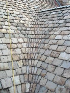 Detail of the Original Slate Roof North Carolina Roofing & Siding works to bring you what you want out of your home. We will make your home your dream. Call us to schedule a time that's convenient for you at (919) 578-ROOF