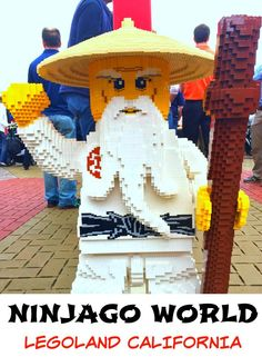 Do your children love LEGOS?  Then take them to visit the new NINJAGO World at LEGOLAND California featuring five attractions designed to test guests balance including NINJAGO The Ride.