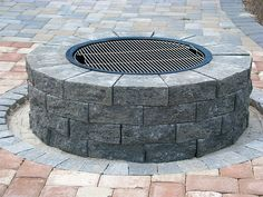 A quick and easy do it yourself firepit surround lowes creative do it yourself firepit installation instructions and grill kit recipes enhance companies solutioingenieria Image collections