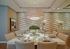 Decor Salteado - Blog de Decoração e Arquitetura : Salas de jantar brancas e off whites – veja modelos lindos e dicas de como decorar!
