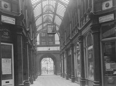 The Bradford Swan Arcade was on the current site of Arndale House on Market Street & Broadway. It was demolished in 1962