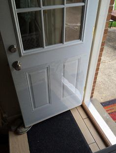 The Door Shield - Pet Scratch Protector & DIY Tip of the Day: Protecting Doors From Dog Scratches. Protect ... Pezcame.Com