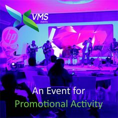 An Events for Promotional Activity #VMSEvents
