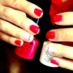 Nail Art Cape Coral Best Of Cnd Shellac Nail Art | holiday nails acrylic summer coral #