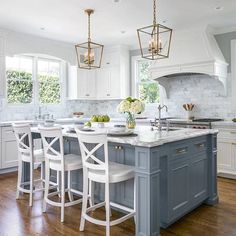 There's nothing like a well designed kitchen filled with natural light ...   by Christine Sheldon Design  