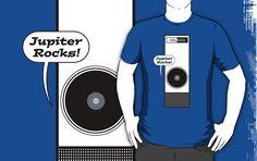 40 Kubrick Themed T Shirts   20. Jupiter Rocks! – by GritFX