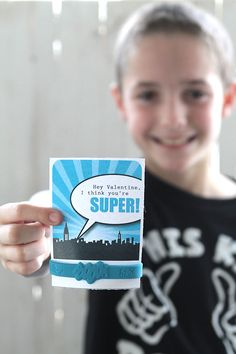 love this no-candy Valentine's day idea - cute printable cards with superhero bracelets! you can get 24 bracelets for only $6
