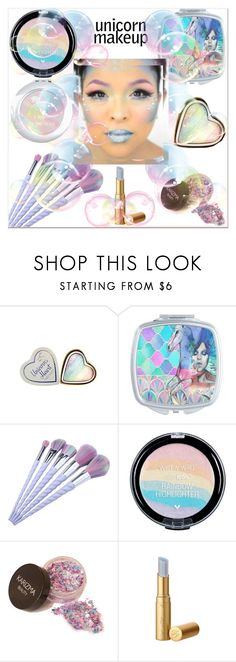 """Unicorn Makeup"" by misshonee ❤ liked on Polyvore featuring beauty, Wet n Wild and Too Faced Cosmetics"
